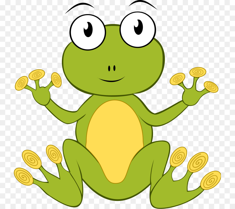 Frog Clip art - Frog On Lily Pad Clipart - PNG Frog On Lily Pad