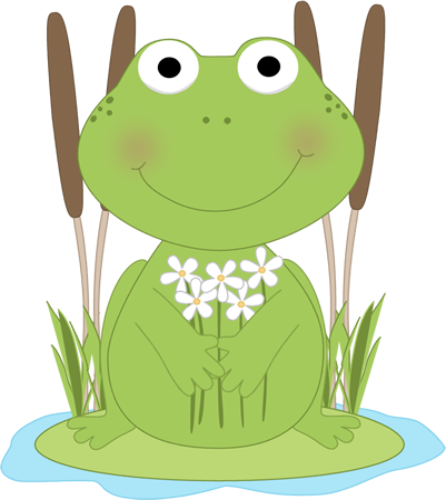 Frog Pond Clipart - Clipart Suggest - PNG Frog On Lily Pad
