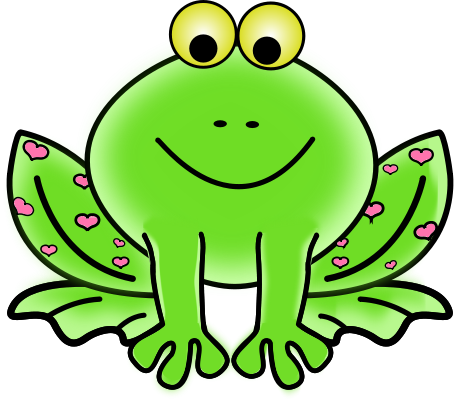 Frog Clip Art For Teachers - PNG Frogs Free