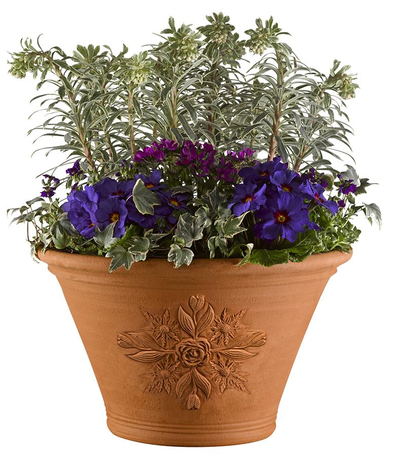 RHS Chelsea Flower Show Centenary Flowerpot - PNG Gamla