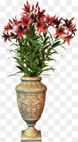 vase, Flower Pot, Vase, Flowers PNG Image - PNG Gamla