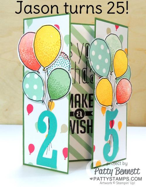 Card ideas - PNG Geburtstagsstrauss