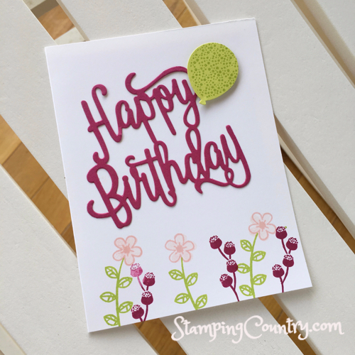 Cricut birthday cards - PNG Geburtstagsstrauss