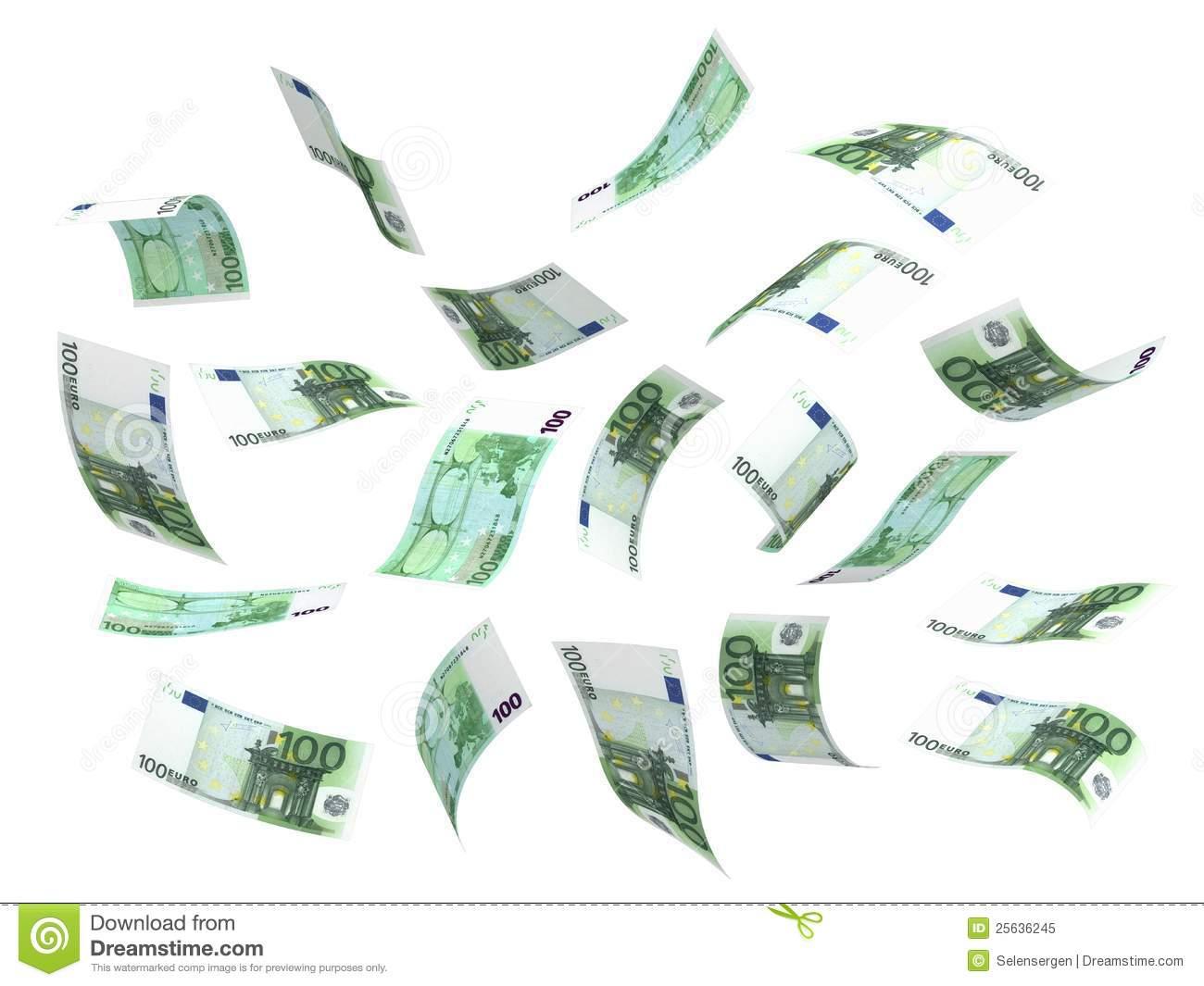 euro flugwesen geld PlusPng.com  - PNG Geld Euro