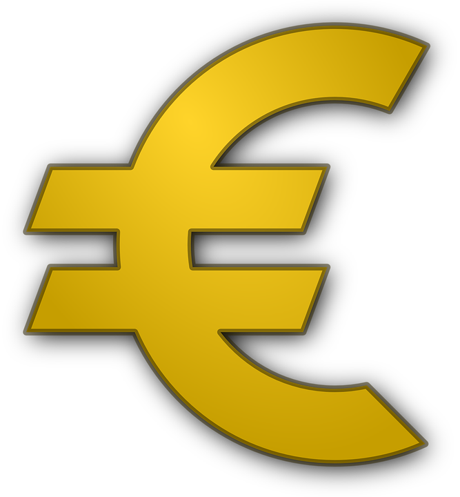 Euro, Geld, Symbol, Währung, Europa, Anmelden, Gelb - PNG Geld Euro