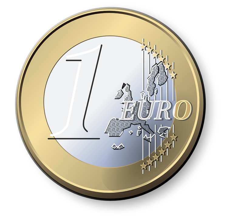 Euro, Münze, Währung, Europa, Geld, Reichtum, Geschäft - PNG Geld Euro