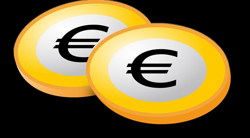Euro, Münzen, Währung, Geld, Kredit, Investitionen - PNG Geld Euro
