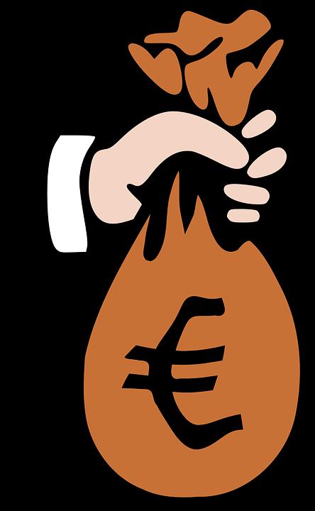 Geld, Beutel, Bargeld, Euro, Dieb, Räuber - PNG Geld Euro