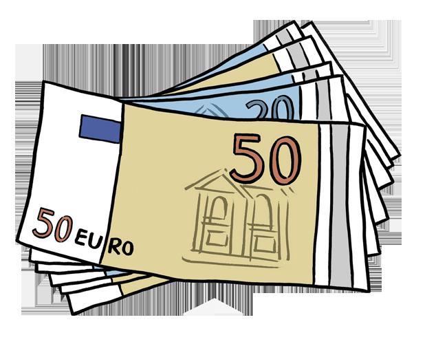 Geld euro clipart - PNG Geld Euro