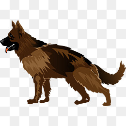 German Shepherd Dog, Hound, Animal, Puppy PNG and Vector - PNG German Shepherd