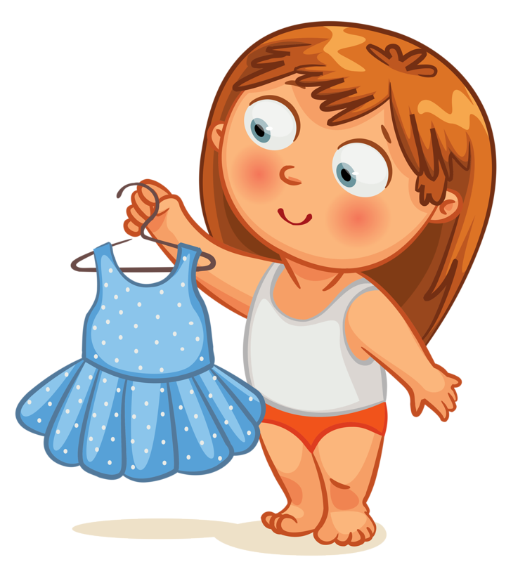 PNG Get Dressed Kids - 67015