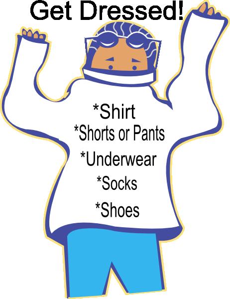 PNG Get Dressed Kids - 67011