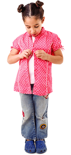 PNG Get Dressed Kids - 67018