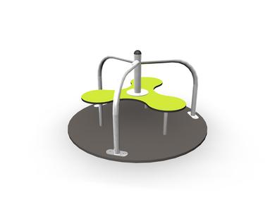 Prodotti per altalene e giostre girevoli: CLOXX IODINE - PNG Giostre