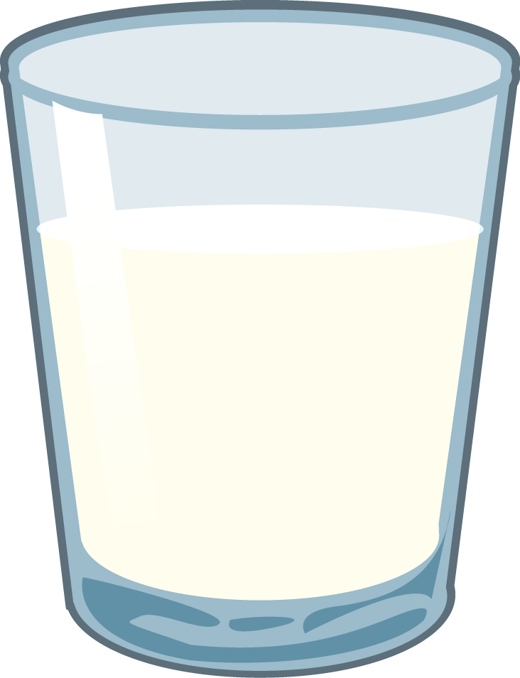 Glass-of-Milk.png - PNG Glass Of Milk
