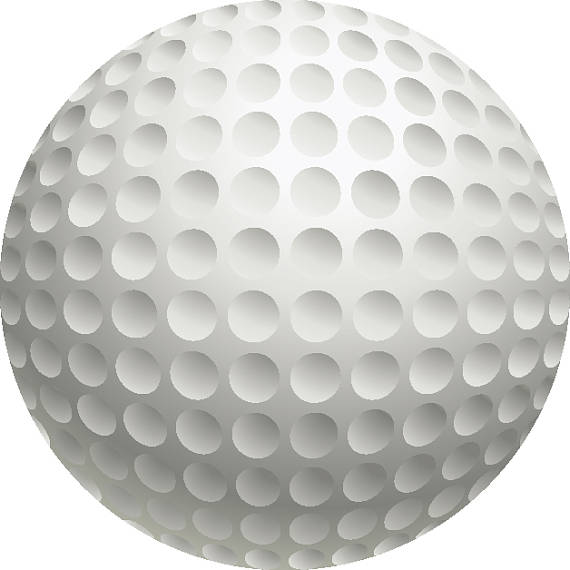 how to draw and cut a golf ball
