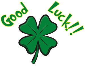 Good Luck With Lucky Flower - PNG Good Luck