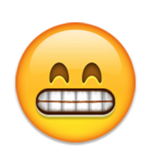 hey : FLUSHED FACE EMOJI GRINNING FACE WITH SMILING EYES - PNG Grin