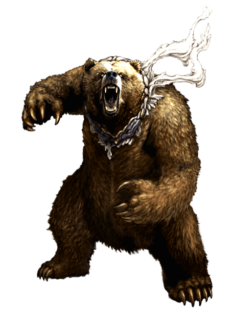 PNG Grizzly Bear - 50909