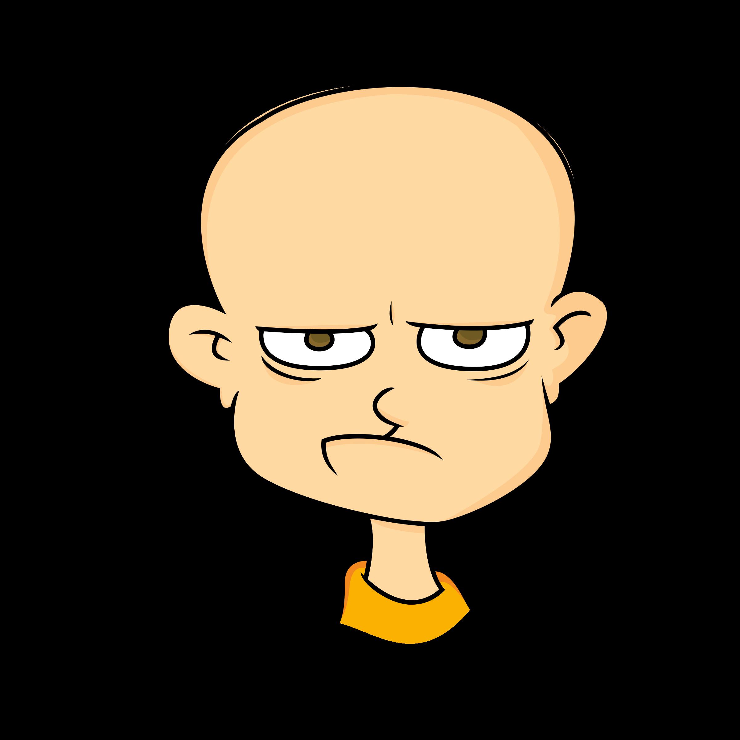 BIG IMAGE (PNG) - PNG Grumpy Face