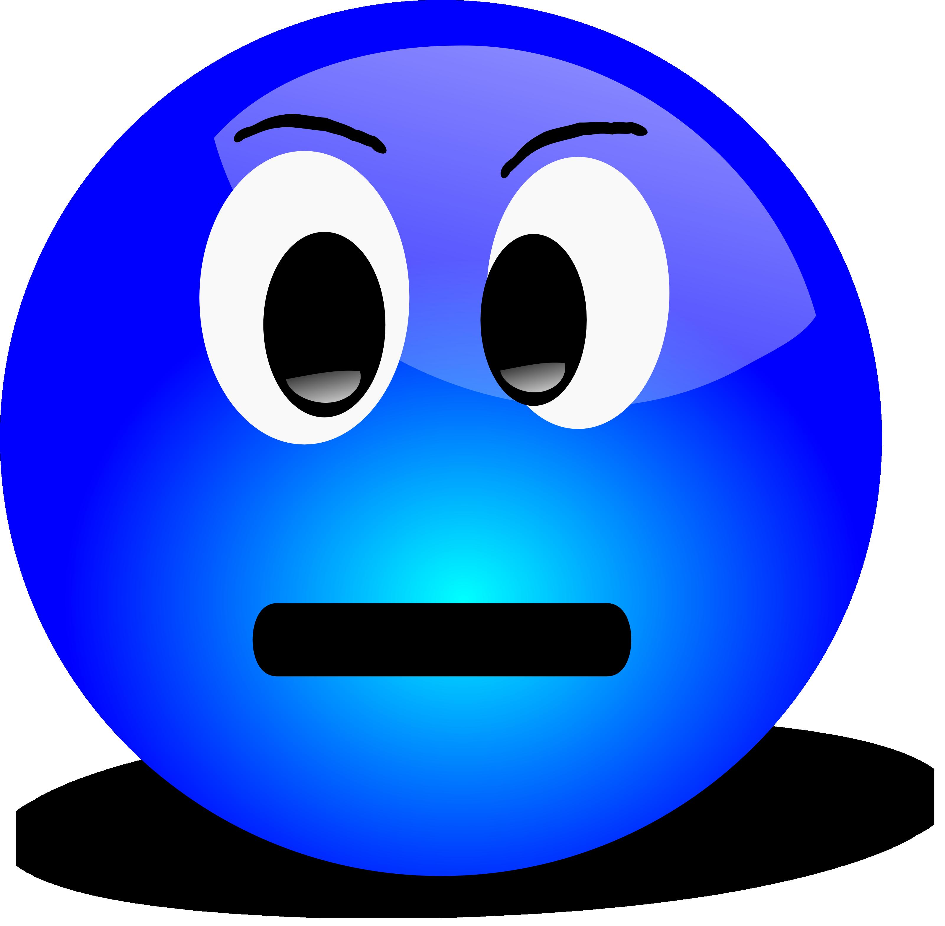 Grumpy Face Cliparts #2634860 - PNG Grumpy Face