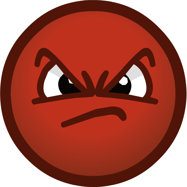 Grumpy Face Cliparts #2634896 - PNG Grumpy Face