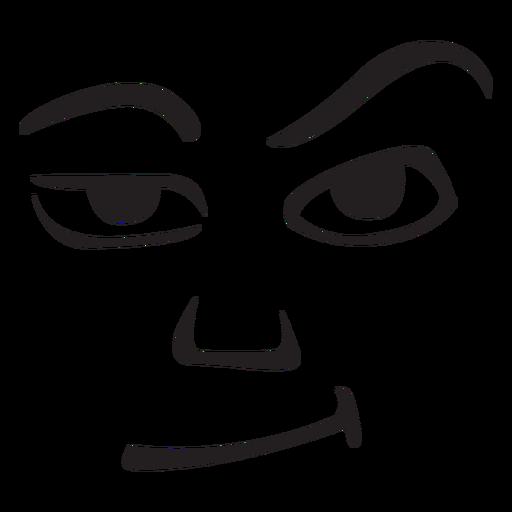 Grumpy face emoticon png - PNG Grumpy Face