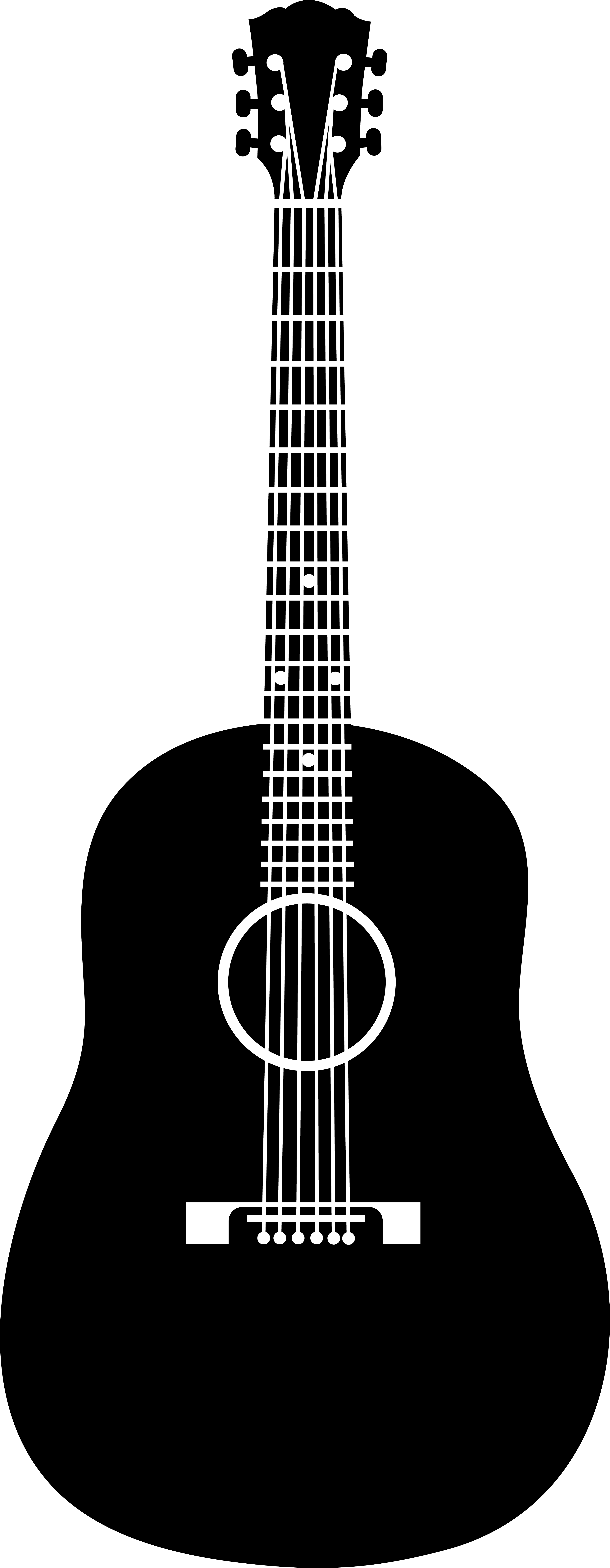 PNG Guitar Silhouette - 47446