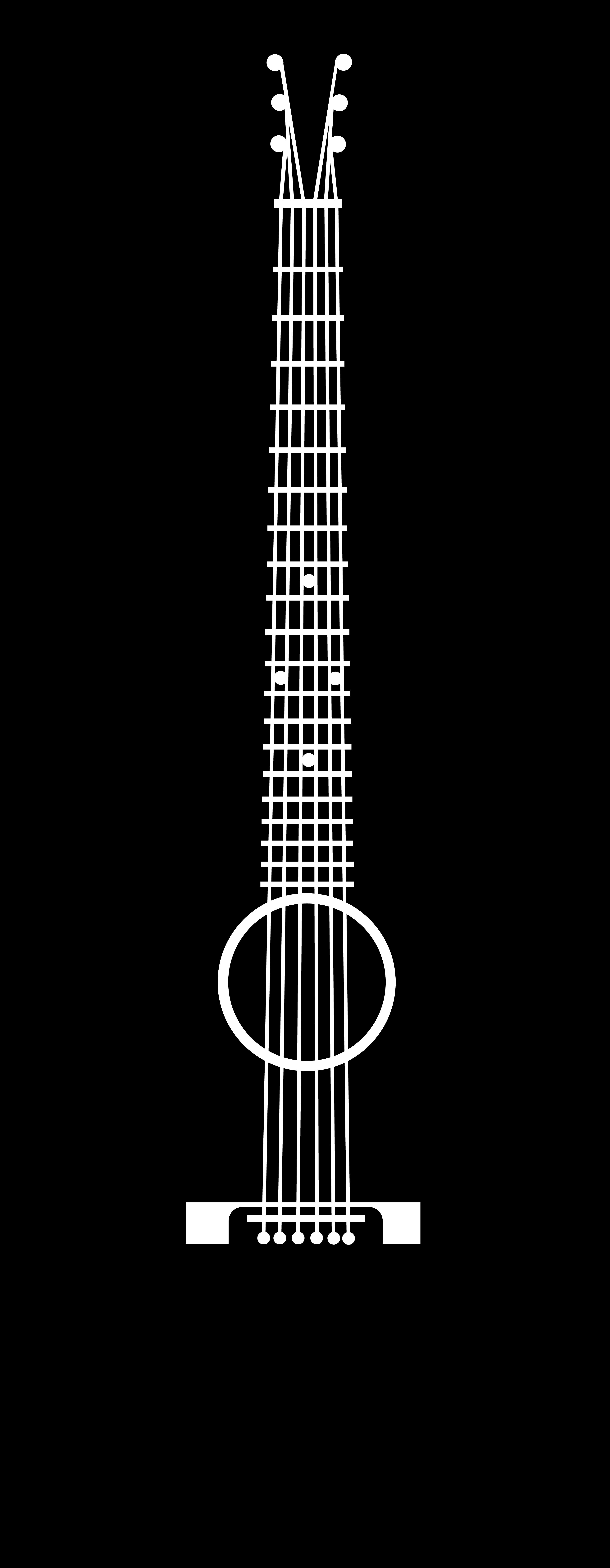 Guitar Clip Art - PNG Guitar Silhouette