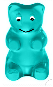 File:Gerry the Gummy Bear.png - PNG Gummy Bear