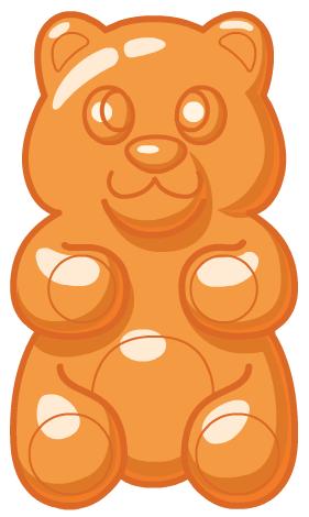 PNG Gummy Bear - 65614