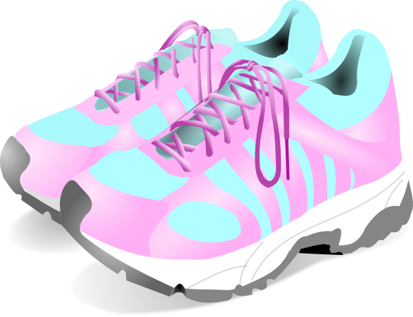 Women\ S Gym Shoes Clip Art at Clker pluspng.com - vector clip art online, royalty  free u0026 public domain - PNG Gym Shoes