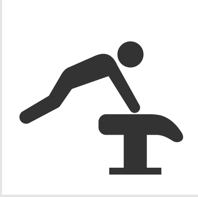 Athletics and Gymnastics Icon Set - PNG Gymnastics Black And White