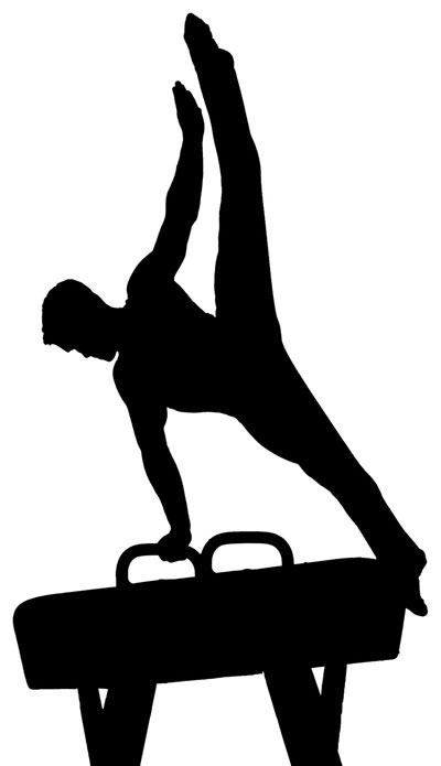 Men gymnastics clipart free clipart images 3 - PNG Gymnastics Black And White