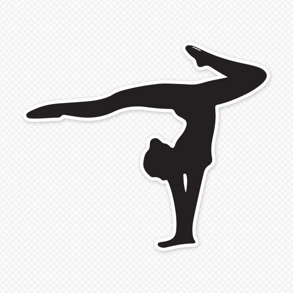 Men gymnastics clipart free clipart images - PNG Gymnastics Black And White