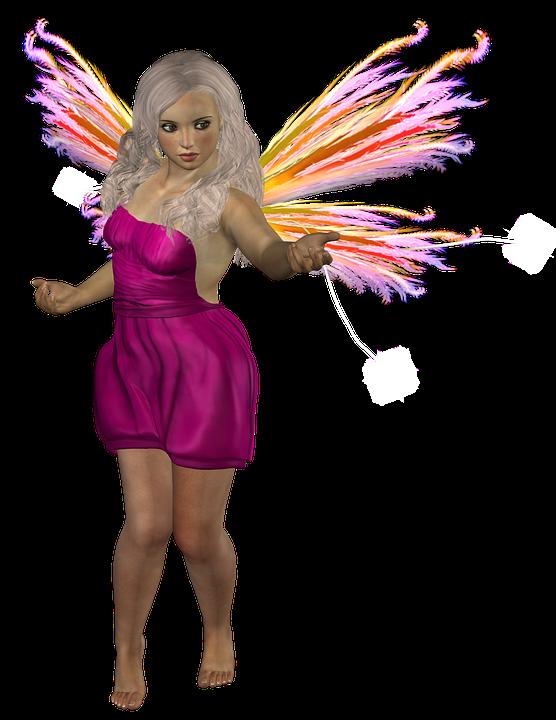 de hadas dama alas niña cuento de hadas místico - PNG Hadas Gratis