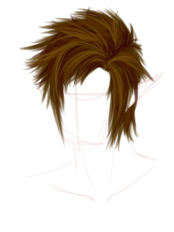 Menu0027s New PNG Hairstyle F