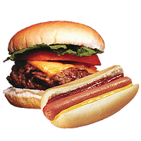 hamburger-hot-dog.png - PNG Hamburgers Hot Dogs