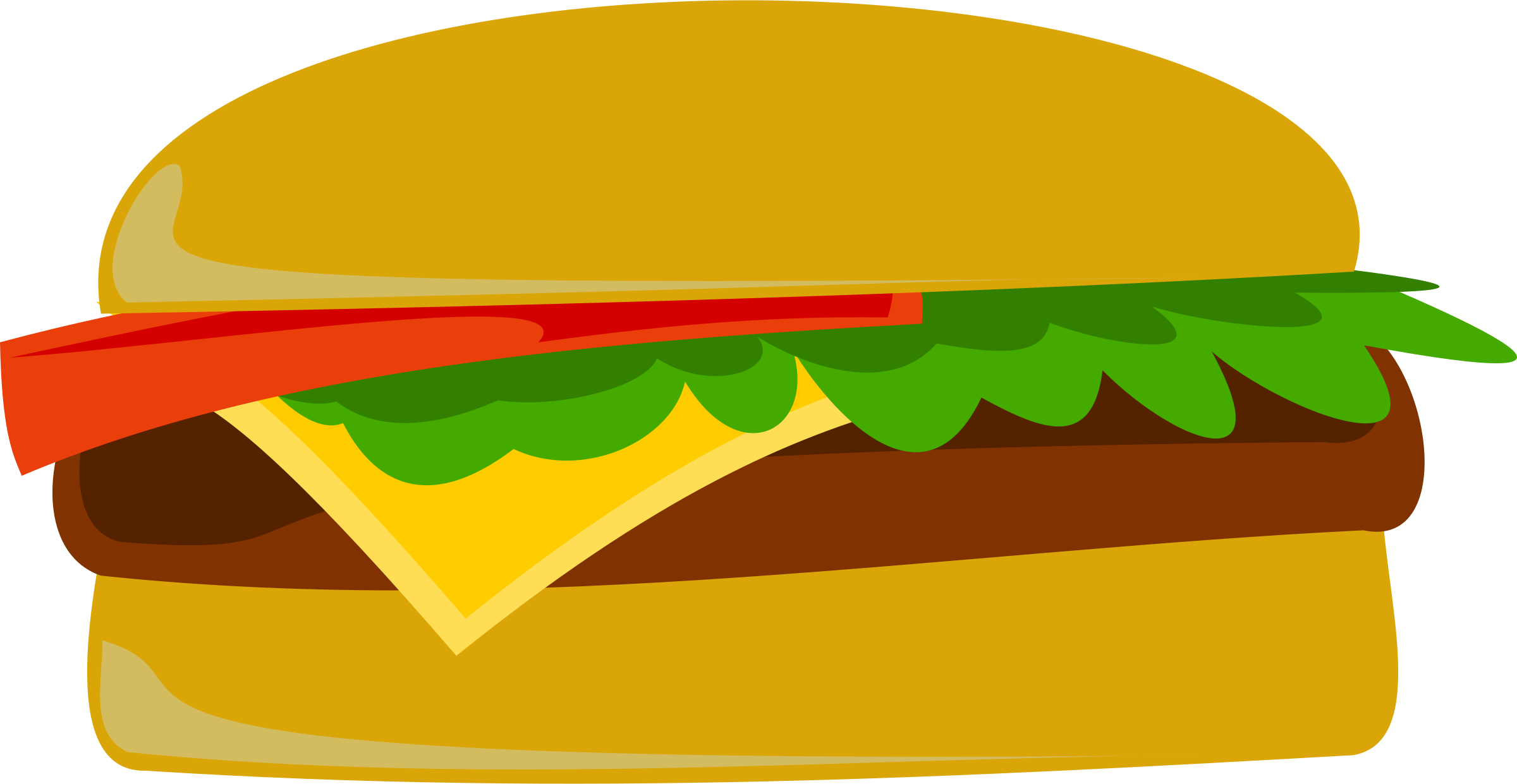 hotdog and hamburger clipart - PNG Hamburgers Hot Dogs