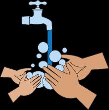 PNG Hand Washing - 50128