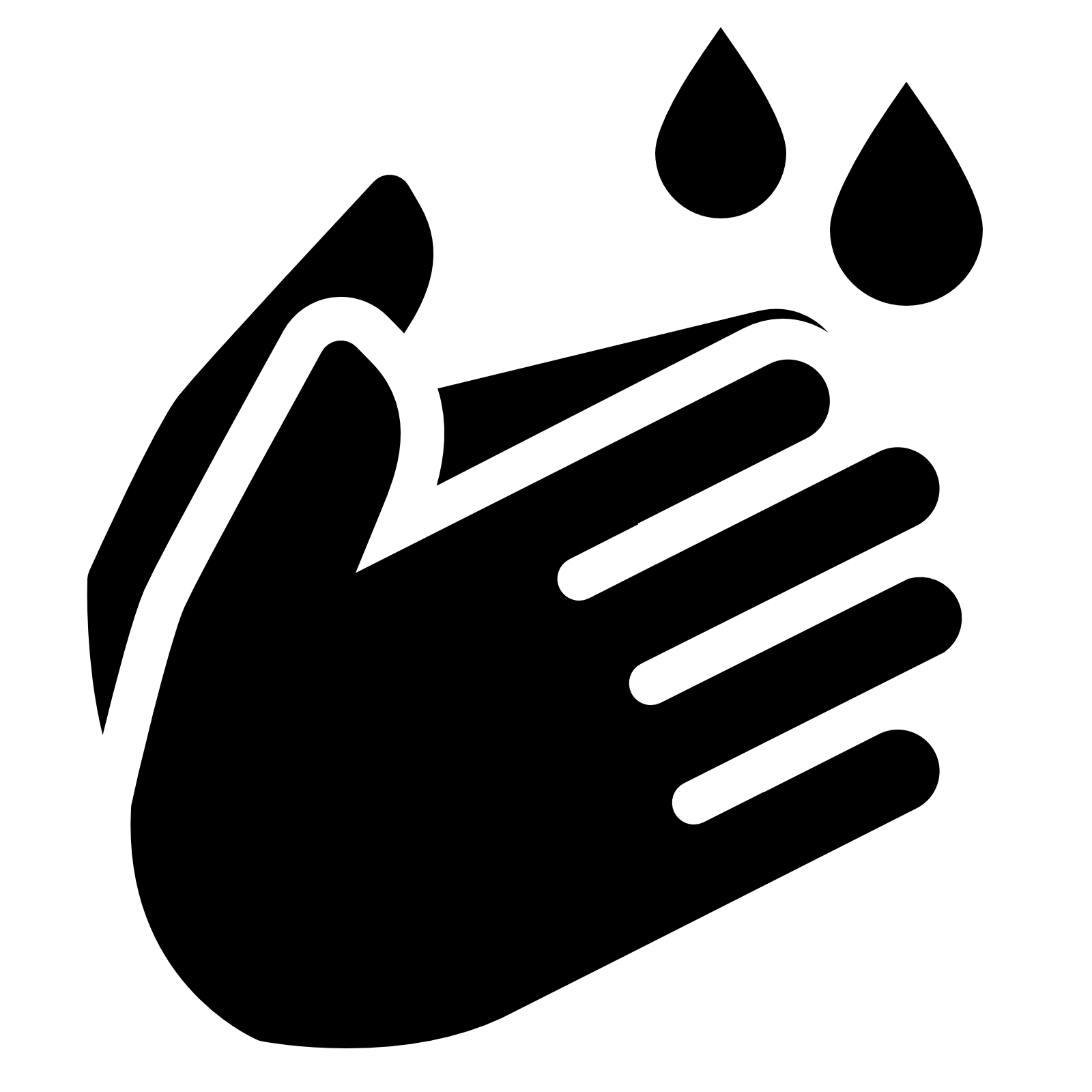 Wash Your Hands Filled icon - PNG Hand Washing