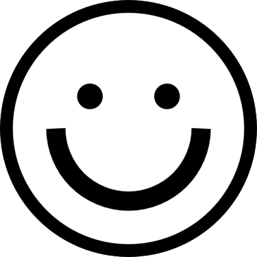PNG Happy Face Black And White - 47717