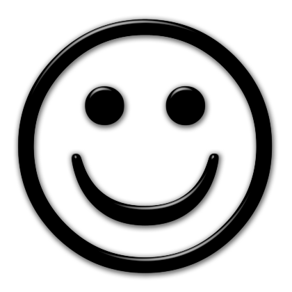 Smiley Face Black And White Png - Clipart library - PNG Happy Face Black And White