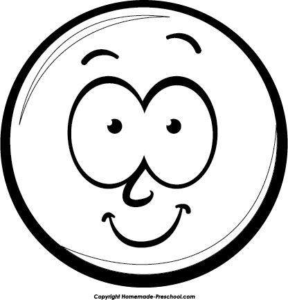 PNG Happy Face Black And White - 47731