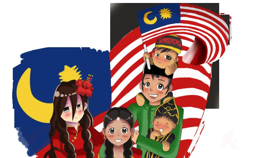 1 Malaysia _-_ MERDEKA by Eziara PlusPng.com  - PNG Hari Kemerdekaan