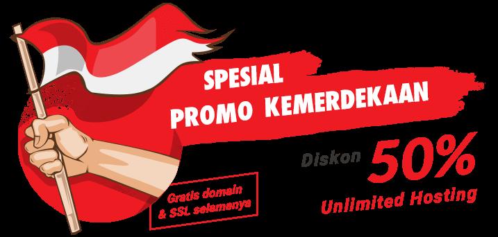 Diskon 50% Unlimited Hosting Spesial Hari Kemerdekaan   Domain .ID - PNG Hari Kemerdekaan Indonesia