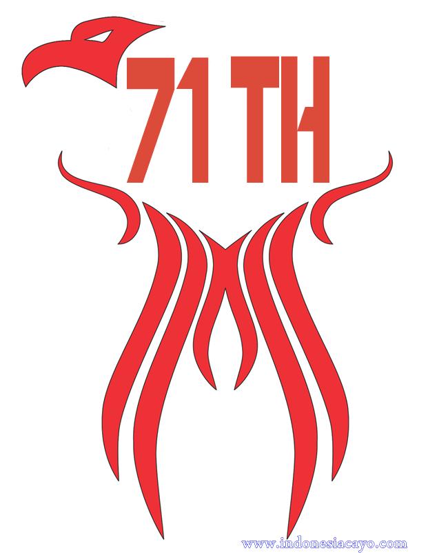 Logo Kemerdekaan Indonesia Ke-71 Terbaru 2016 - PNG Hari Kemerdekaan Indonesia