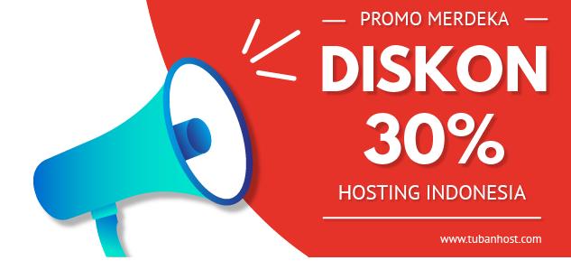 Promo Hosting 30% Hari Kemerdekaan Indonesia Ke-71 - PNG Hari Kemerdekaan