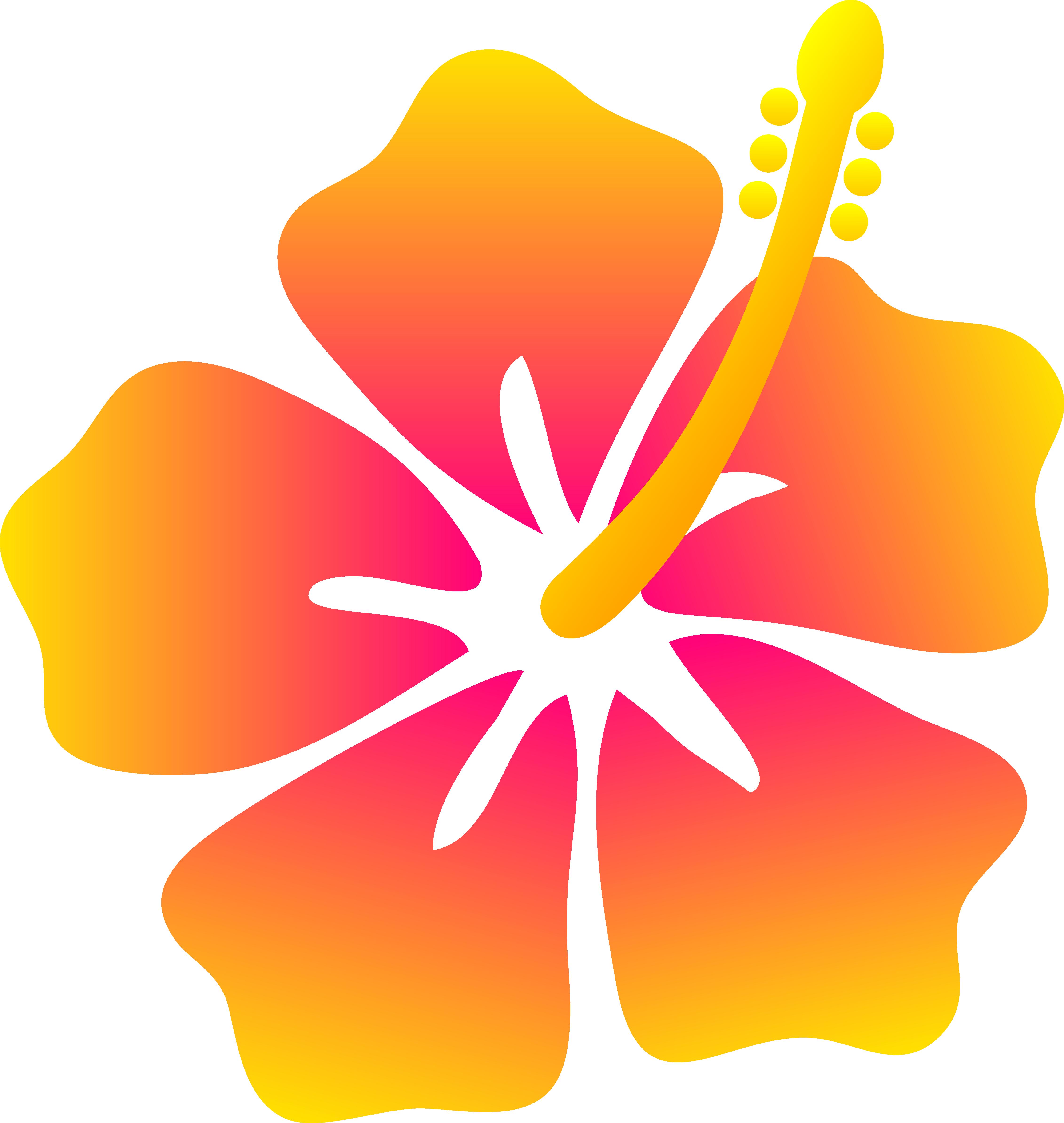 PNG Hawaiian Flower - 53360