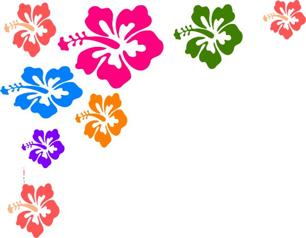 hibiscus-flower-color-hi.png (600×467) - PNG Hawaiian Flower